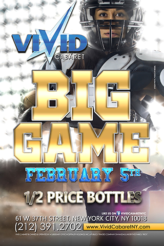 Super Bowl LI - Super Bowl LI Sunday February 5, 2017 1/2 price bottles