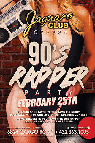 RAPPERS DELIGHT -90S THEME PARTY - RAPPERS DELIGHT-90s THEME PARTY 