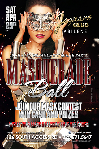 50 SHADES OF JAGUARS THEME PARTY AND MASQUERADE BALL