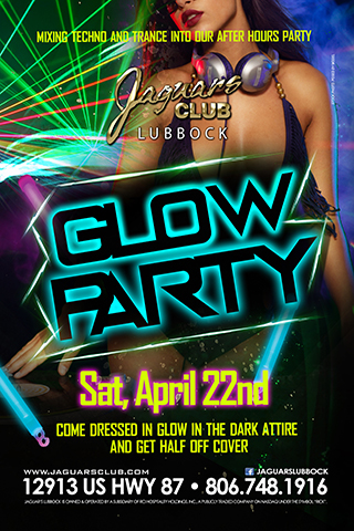 Graphic for GLOW THEME PARTY