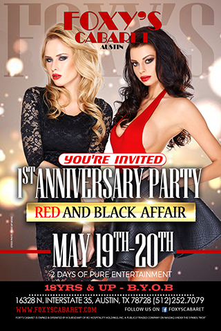 1 Year Anniversary - Two day event showcasing our 1 yer anniversary with multiple ACTS booked for entertainment