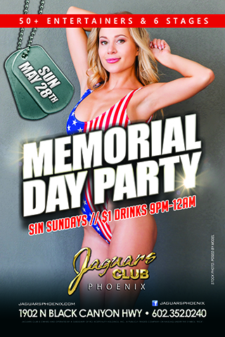 Graphic for Memorial Day Party