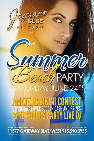 Graphic for Summer Beach Party AFter Hours Fiesta