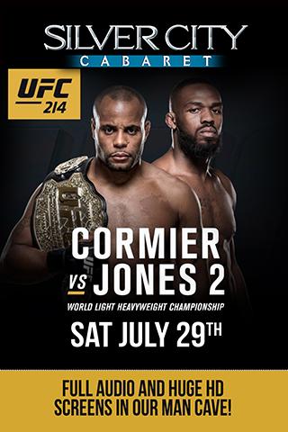 UFC 214 Cormier vs. Jones 2 Watching Party!