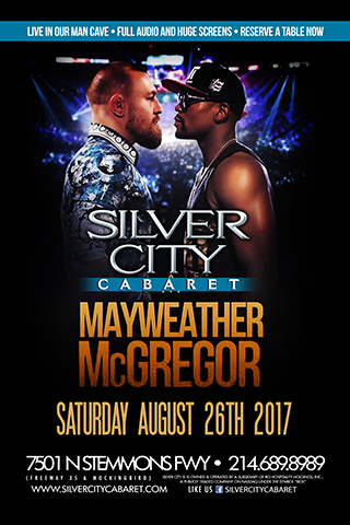 Mayweather vs. McGregor Watching Party!