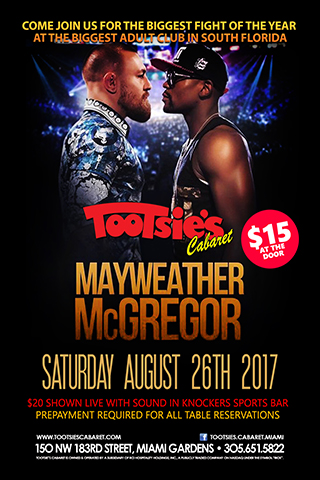 Graphic for Mayweather Vs McGregor