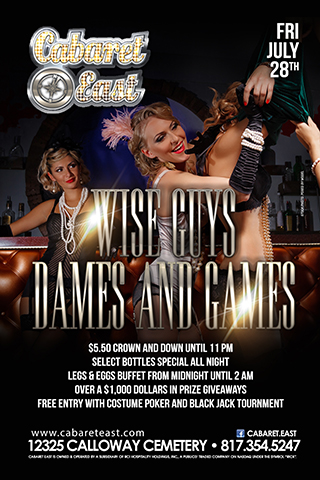 Wise Guys, Dames & games