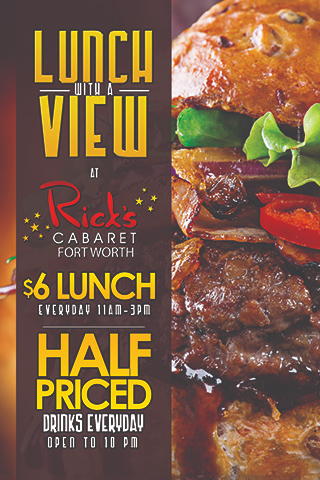 happy hour and $6.00 lunch special