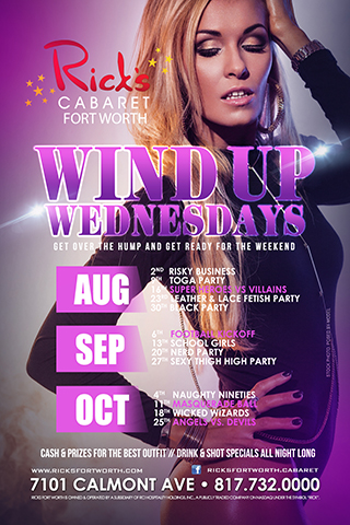 Wind Up Wednesdays