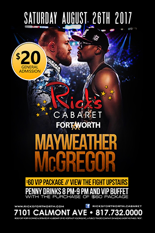 Conner McGreggor Mayweather fight