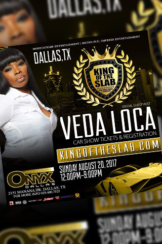 King of the slab car show - Cas and bike showcase for customer cars and bikes. Live at the club onyx parking lot. after party will be hosted at Club Onyx