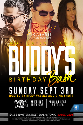 Buddy's Birthday Bash