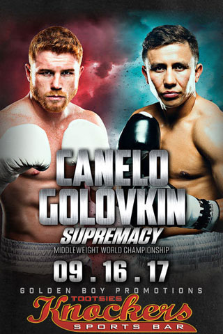 Graphic for Canelo vs Golovkin