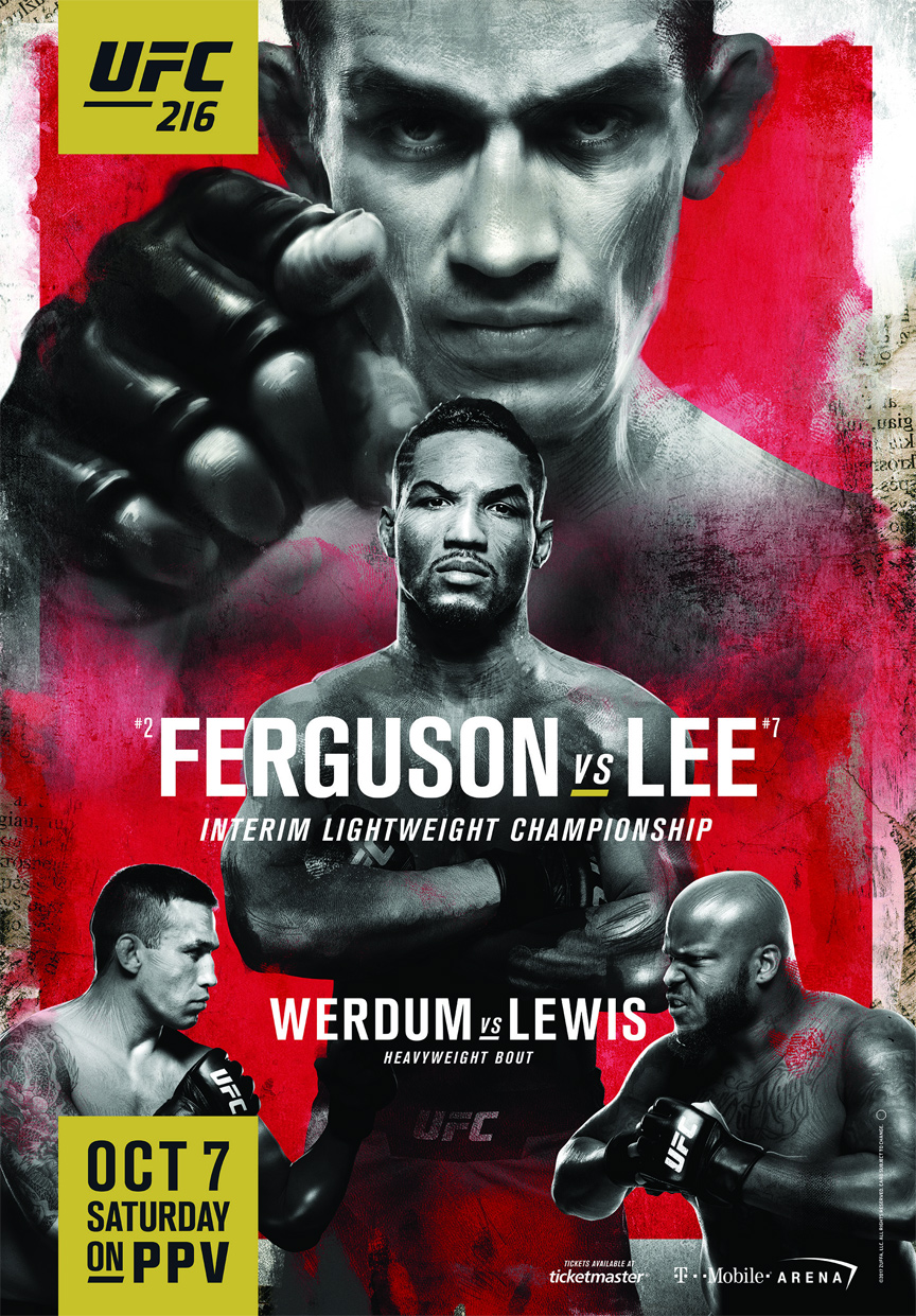 UFC 216 - Watch UFC 216 Ferguson vs Lee in our Knockers Sports Bar Saturday October 7th with full audio.