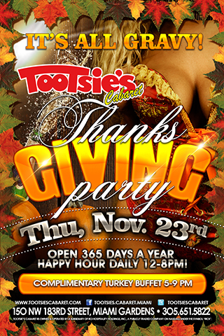 Graphic for ThanksGiving Party