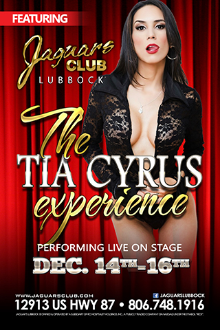 The Tia Cyrus Experince - final feature of the year with one of the hottest ladies in the business