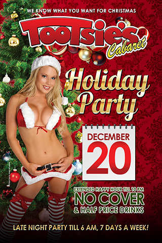 Holiday customer appreciation party - Extended happy Hour till 10pm