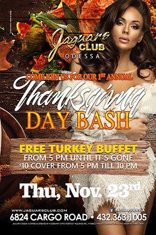 Thanksgiving Bash - Come join us for our 1st annual Thanksgiving bash .