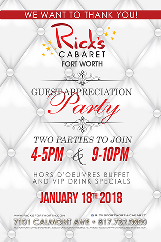 Guest Appreciation Party