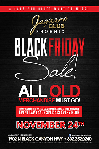 Black Friday Sale - Jaguars Black Friday Sale