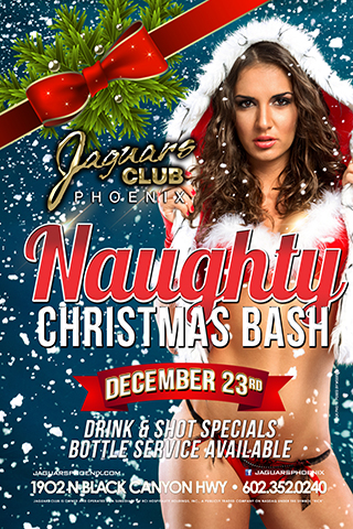 Graphic for Naught Christmas Bash