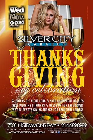 Thanksgiving Eve Celebration!