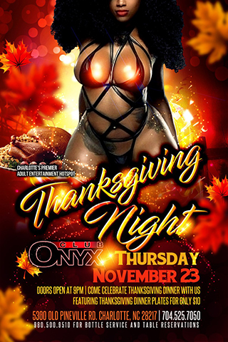 Graphic for Thanksgiving Night