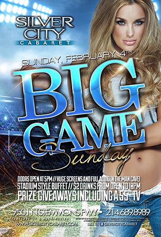 Big Game Sunday!