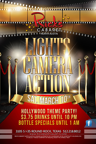 LIGHTS CAMERA ACTION PARTY