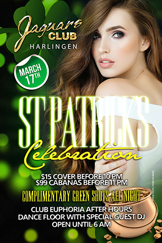 Graphic for St. Patrick's Day Celebration
