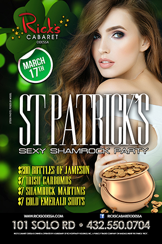 Graphic for St. Patties Sexy Shamrock Party