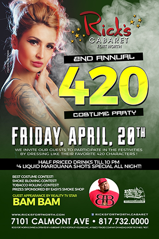 2nd Annual 420 Costume Party