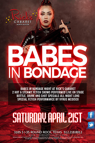 Babes in Bondage, Sexy girls in bondage  Unique fetish show (2 appearances)  Bottle Specials