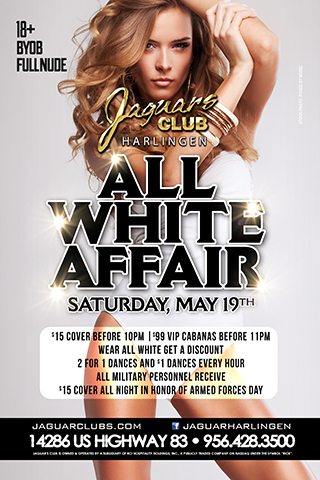 Graphic for All White Affair