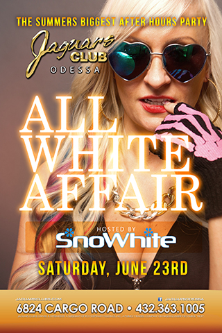 Graphic for SNO WHITE--ALL WHITE PARTY