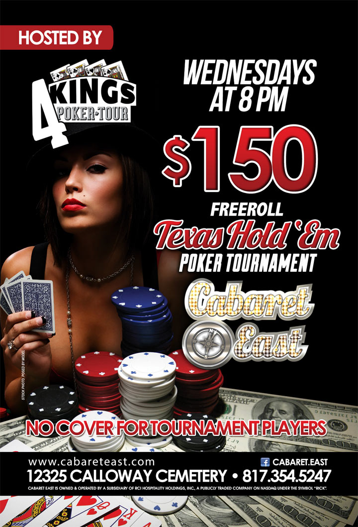 FreeRoll Texas Hold'em Poker Tournament