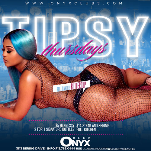 Graphic for Tipsy Thursdays