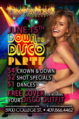 Graphic for Down to Disco Party