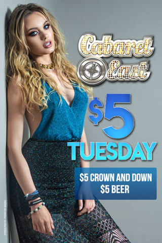 Theme party $3 Tuesdays