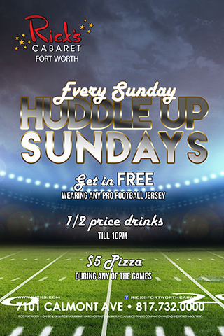 Huddle Up Sundays