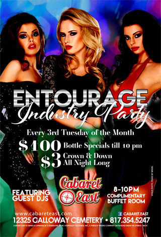 Entourage Industry Party