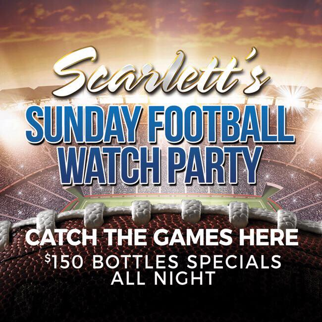 Sunday Football Watch Party