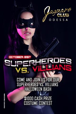 SUPER HEROES VS VILLAINS