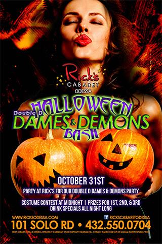 Ricks Halloween Double D Dames and Demons BASH