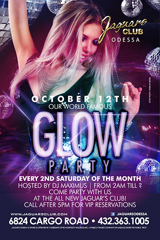 Graphic for GLOW PARTY
