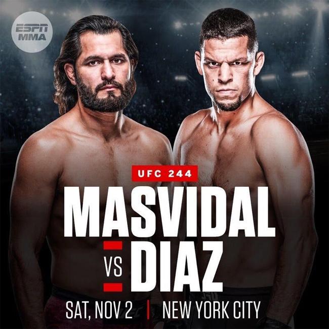 UFC 244: Masvidal vs. Diaz at Scarlett's