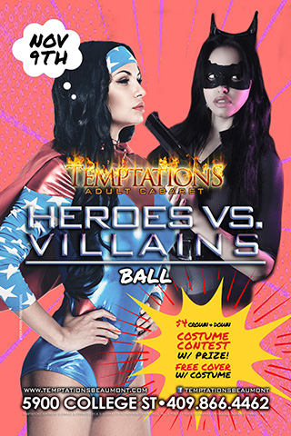 Graphic for Heroes & Villains Ball