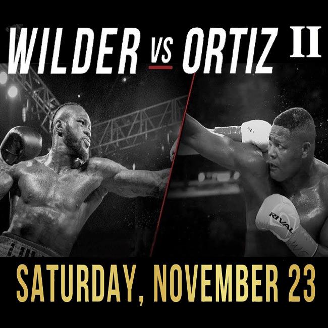 Deontay Wilder vs Luis Ortiz