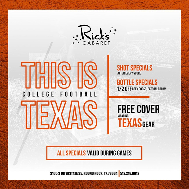 Texas Football Watch Party