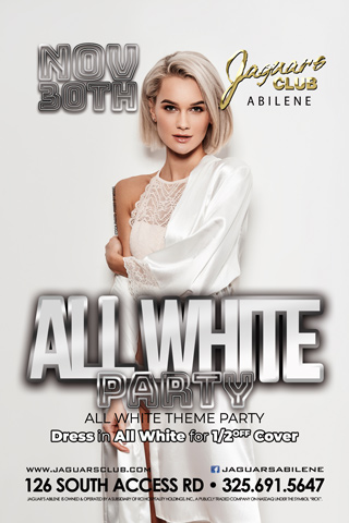 ALL WHITE PARTY - ALL WHITE THEME  PARTY ,DRESS IN ALL WHITE AND GET HALVE OFF COVER.SIDE B GOOGLE MAP AND HAVE OFF WITH FLYER